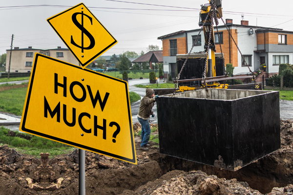 Septic Tank Installation Cost A Basic Pricing Guide